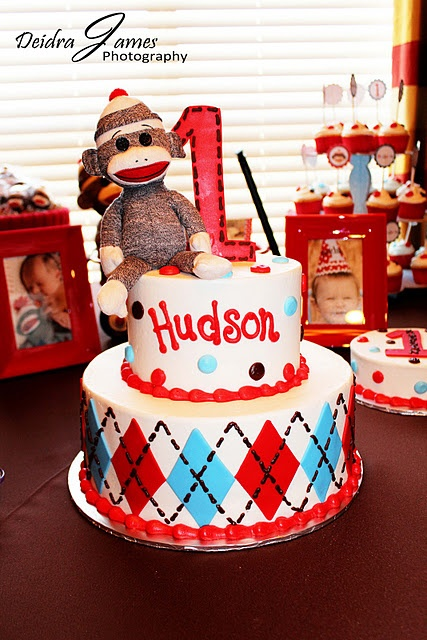 Sock Monkey Cake Ideas!!