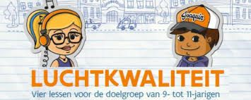 Luchtkwaliteit educatief pakket - Vlaamse Milieumaatschappij - #lageronderwijs #milieu #luchtvervuiling #milieu-educatie - plaatsnr. LL 476.1 WERE