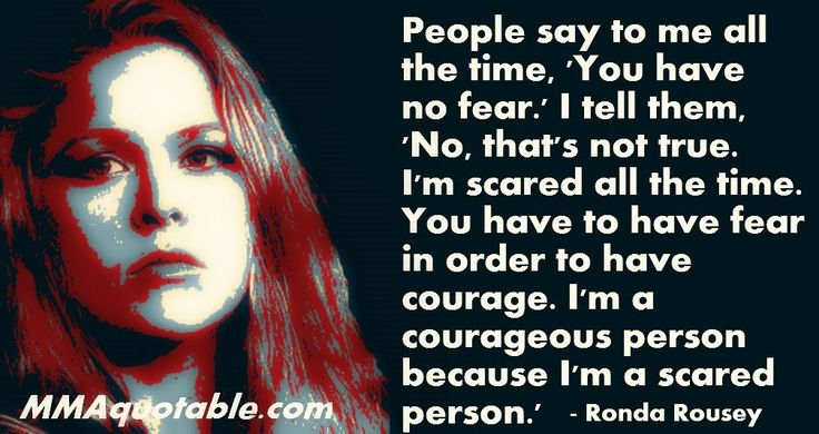 - Ronda Rousey