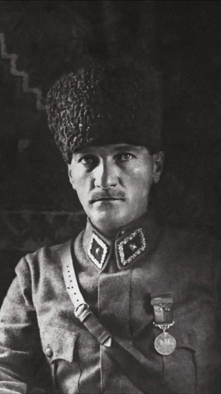 Mustafa Kemal Ataturk Askeriye Mavi Gozler Ordu