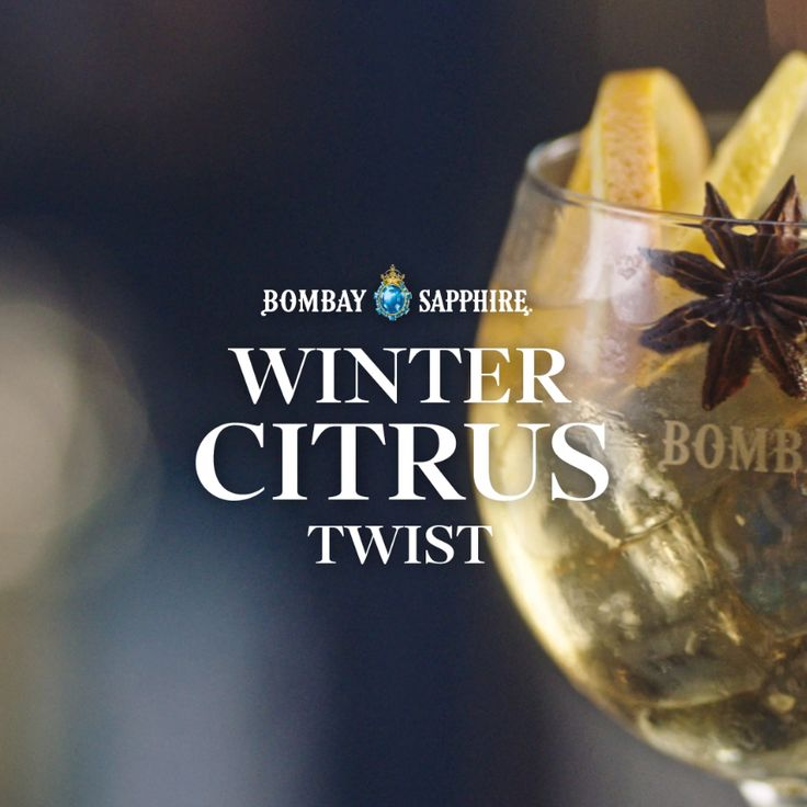 Bombay Sapphire's new festive winter twists are ready to be unwrapped. The toughest decision? Which to try first. Cinnamon spices with citrus? Fresh pear and warm ginger? Or vermouth, orange and star anise? Explore the recipes and choose your favourite.