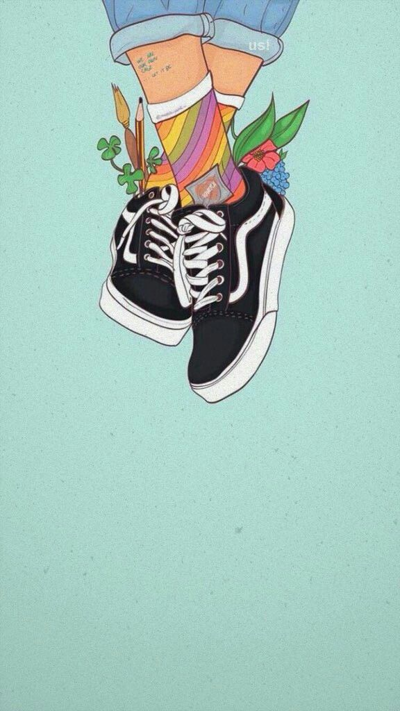 Hanging shoes Cute wallpapers, Iphone wallpaper