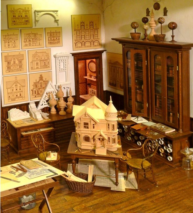miniature dollhouse furniture woodworking. Miniature Dollhouse Furniture Woodworking. Tom Roberts Miniatures - Building Studio In Scale! Woodworking