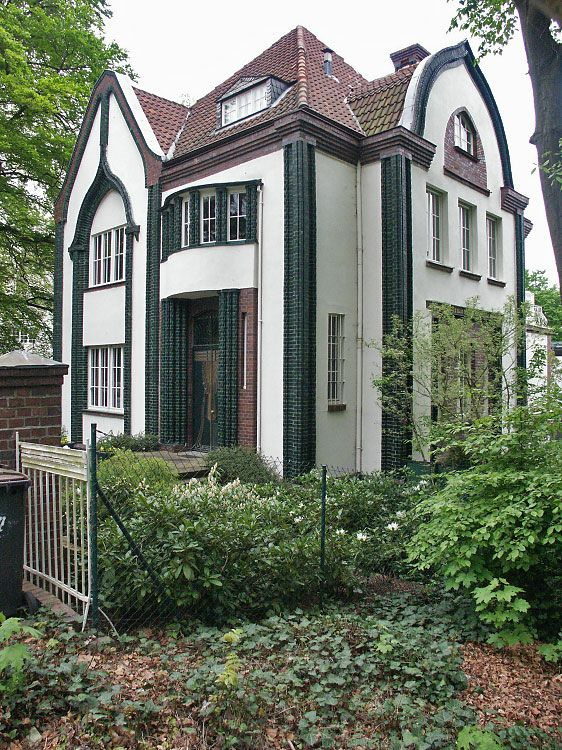 Peter Behren's House, 1908, Mathildenhöhe (Darmstadt,Germany)