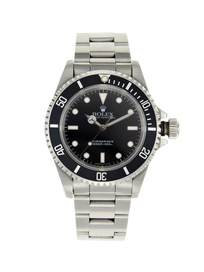 Vintage Watches Rolex Stainless Steel Oyster Perpetual Submariner