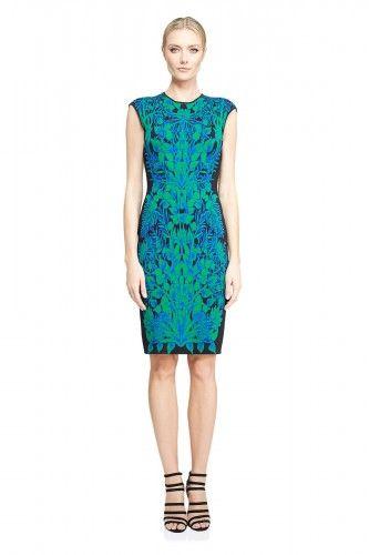 AUV16506M Sukienka wizytowa  #coctaildress #dress #simple #fashion #new #glamour