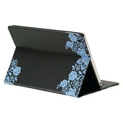 Gaiam Pose Folio Case for iPad Air - Twilight, Blue