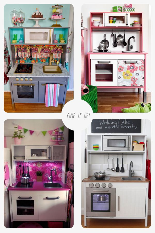 IKEA Duktig play kitchen revamps