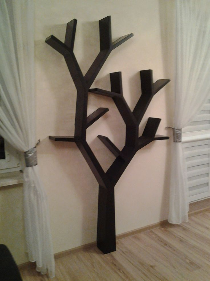 Półka jak drzewo 205x120x16cm