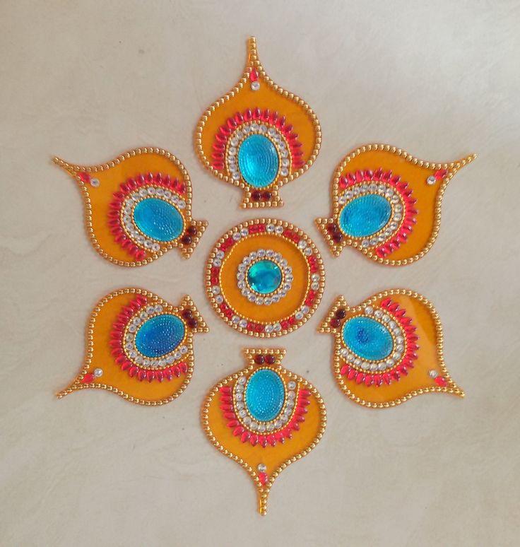Decorative #acrylic #rangoli with 41% discount offer buy from #craftshopsindia
