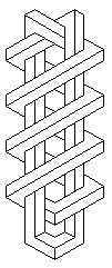Черно-белые фигуры [521-530] - Невозможный мир