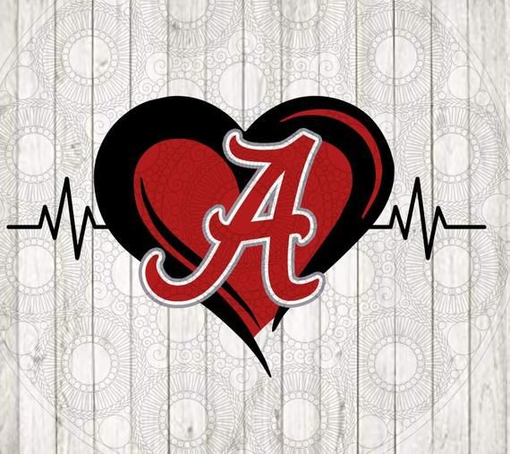 Download Alabama Heart SVG PNG DXF in 2020 | Cleveland cavaliers logo