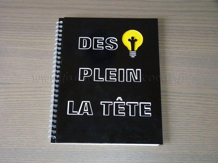 Cahier à idées (Ideas notebook)