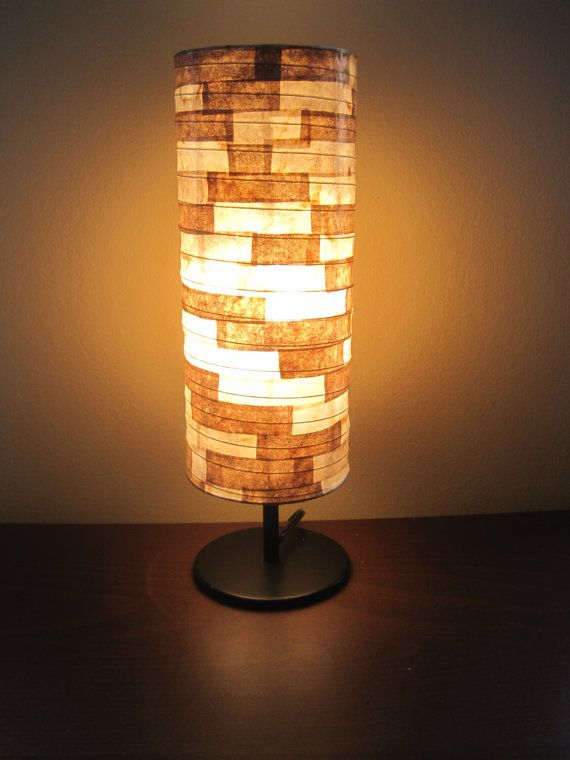RESERVED for Hema - Coffee Filter Art - (Two) Table Lamp ...  RESERVED for He...