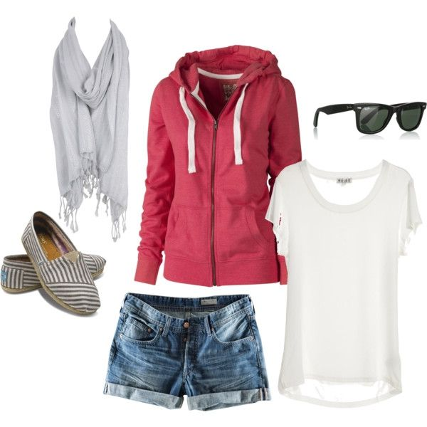 : Summer Looks, Summer Day, Beaches Outfits, Summer Outfits, Comfy Casual, Casual Outfits, Denim Shorts, Summer Night, My Style