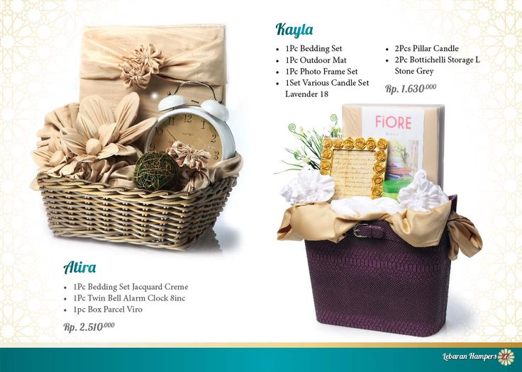 Lebaran Parcel - Kayla and Atira. Click www.informa.co.id for more collection.