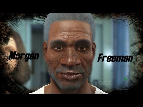 Fallout 4 l Character Creation Challenge l My attempt at Morgan Freeman! - YouTube