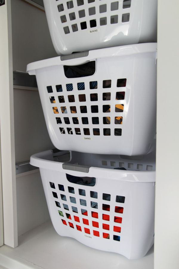 Hanging Laundry Baskets To Sort