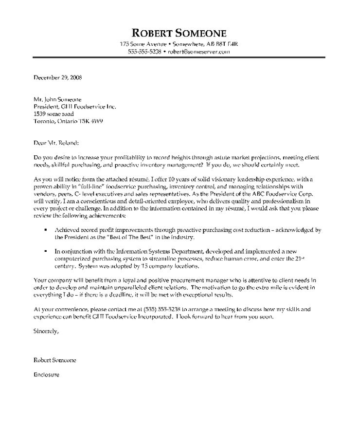 Resume Example, Purchaser Example Of Cover Letter ~ General Example Of Cover Letter