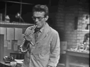 """In a tv episode of """"Tales of Tomorrow"""" entitled """"The Evil Within"""", 1953 - James Dean...Scientist..."""