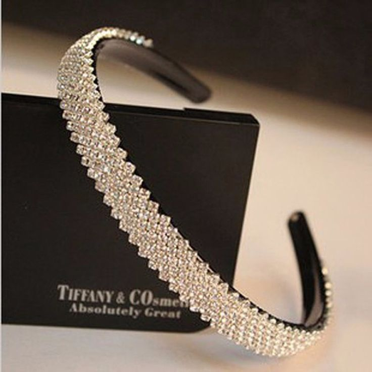 Cheap jewelry import, Buy Quality jewelry bones directly from China jewelry dome Suppliers: 	Product depiction:15mm width Fashion women luxurious crystal headband rhinestone hairband bridal hair accessories