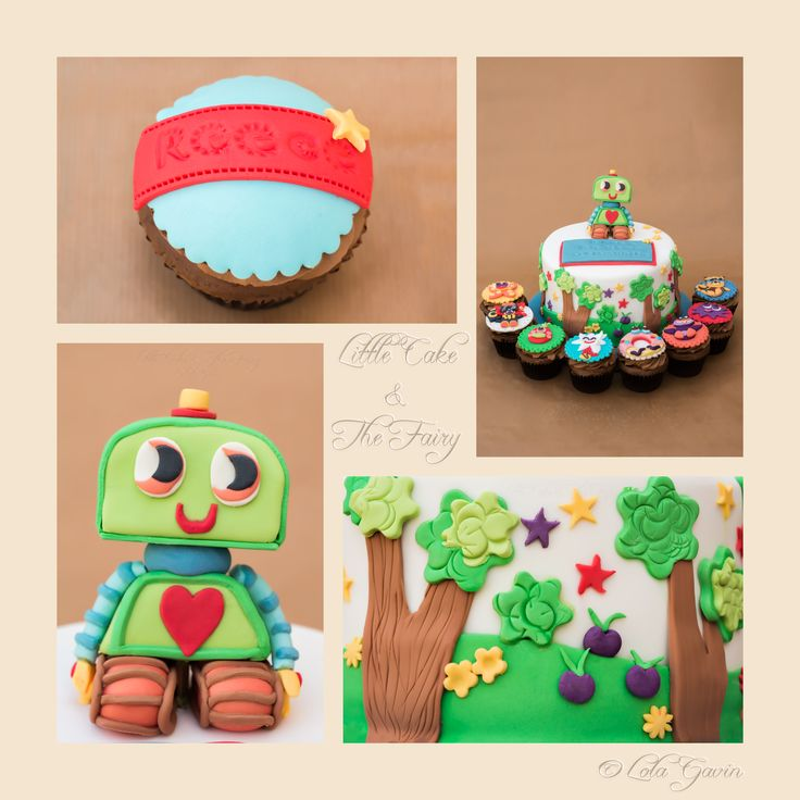 Reece's Moshi Monster Communion Cake