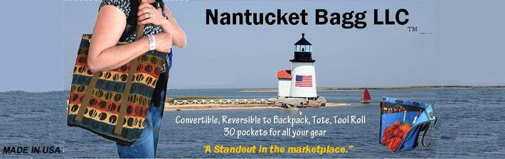 Nantucket Bag organizes tools of any type from knitting needles to heavy duty carpentry tools.  Check out our website to learn more about our knitting bags or carpenter's tool totes. www.nantucketbagg.com