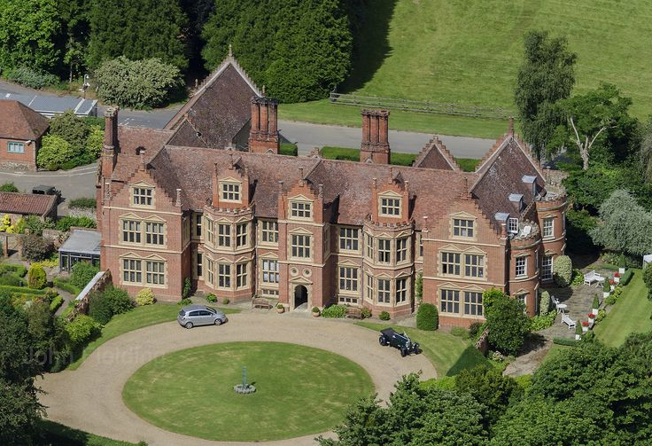 Haughley Park & Hall aerial image by John Fielding #haughleypark #haughley #stowmarket #suffolk #aerial #hall #mansion
