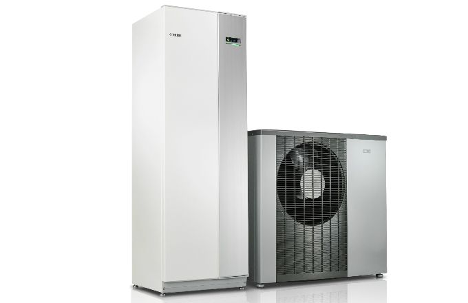 Tepelné čerpadlo systému vzduch-voda NIBE F2120 (energetická třída A+++, SCOP až…