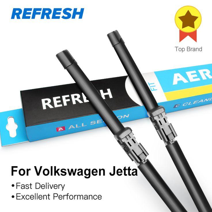 Buy REFRESH Wiper Blades for Volkswagen Jetta A5 / A6 2005 2006 2007 2008 2009 2010 2011 2012 2013 2014 2015 2016 2017 #REFRESH #Wiper #Blades #Volkswagen #Jetta #2005 #2006 #2007 #2008 #2009 #2010 #2011 #2012 #2013 #2014 #2015 #2016 #2017