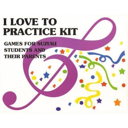 I Love to Practice! Kit for Suzuki Violin Book 1