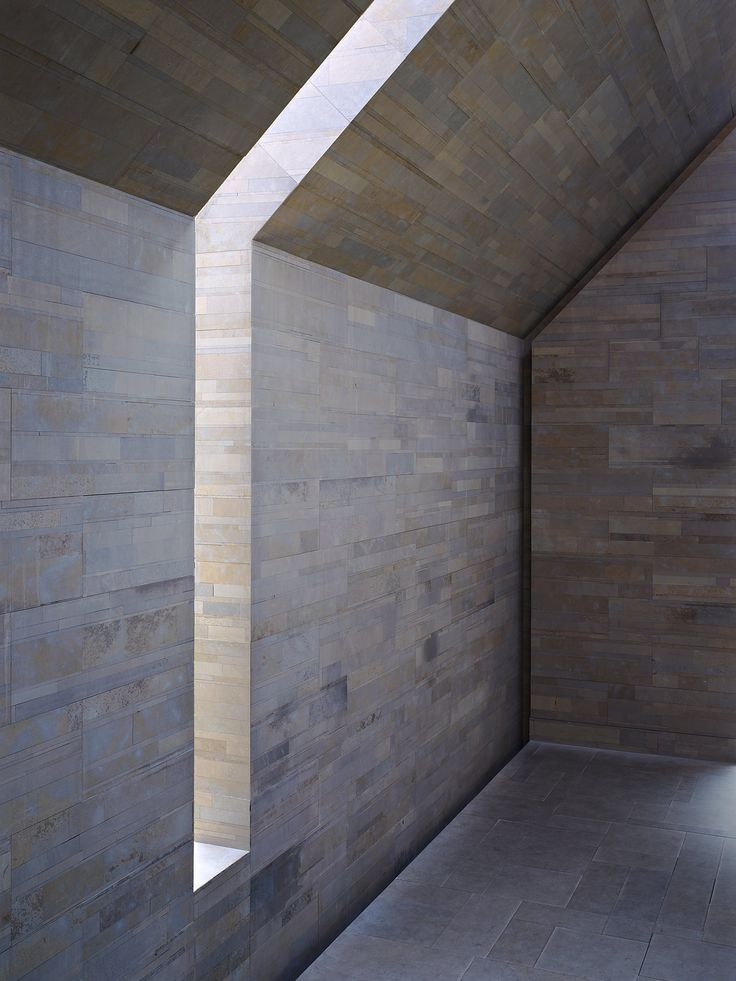 Natural light - Stone House by John Pawson - Photography by Jens Weber.