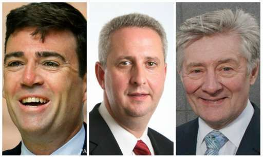 The ballot papers have gone out to Labour members in Greater Manchester who will choose the party's candidate to run for Elected mayor next year from Leigh MP Andy Burnham, Bury South MP Ivan Lewis,and Police and Crime Commissioner Tony Lloyd. The winning candidate  will be announced next month.  - 15 July 2016.