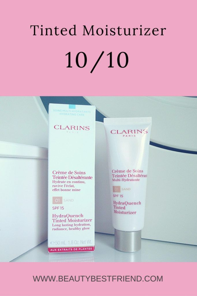 Looking for a really great tinted moisturizer?  I've reviewed HydraQuench Tinted Moisturizer from Clarins and given it a 10 out of 10 score.  Come and read my review to find out why!  Tinted moisturizer | Tinted moisturiser | Clarins Hydraquench | tinted moisturizer review | foundation review