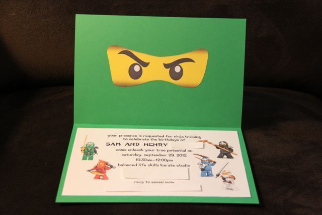 """Photo 19 of 20: Lego Ninjago, Ninja / Birthday """"Ninjago Karate Party""""   Catch My Party"""