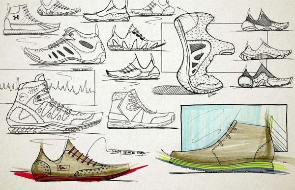 Sketching // Rendering by Brent Radewald, via Behance