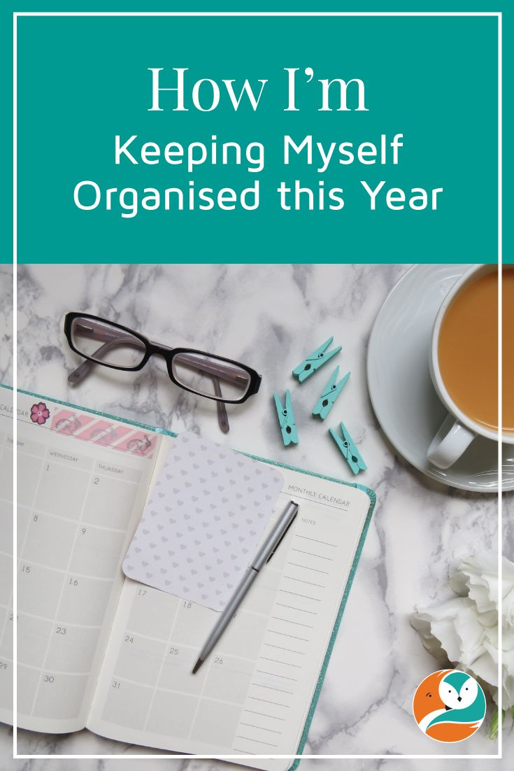 In this post, I share more about the system I'm using to keep my business and life organised this year.