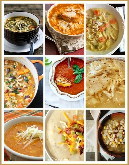 top 10 fall & winter soups!