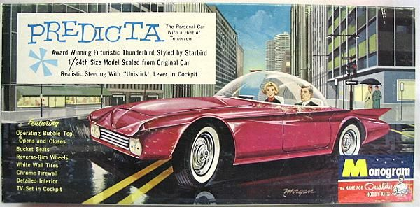 Monogram 1/24 Predicta Personal Car by Darryl Starbird