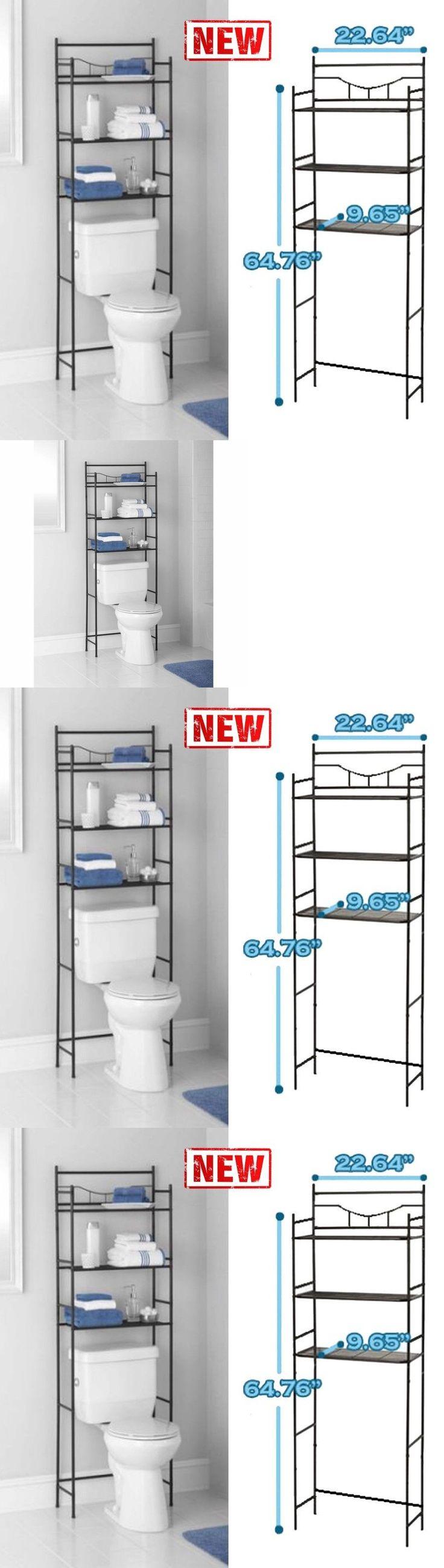 Wrought iron bathroom space saver - Bath Caddies And Storage 54075 3 Shelf Over The Toilet Bathroom Space Saver Organizer Metal
