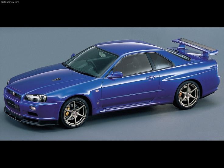 2000 Nissan Skyline GTR R34. Jdm CarsJapanese CarsJapanese Sports ...