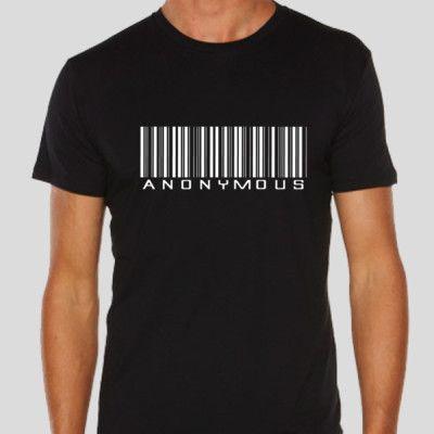 Anon Bar Code Get it at http://novelprints.com/shop?ctype=0&c=1112157 #tshirt #anon #anonymous #apparel