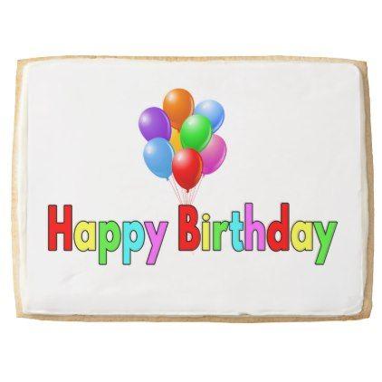 #party - #Birthday Shortbread Cookie