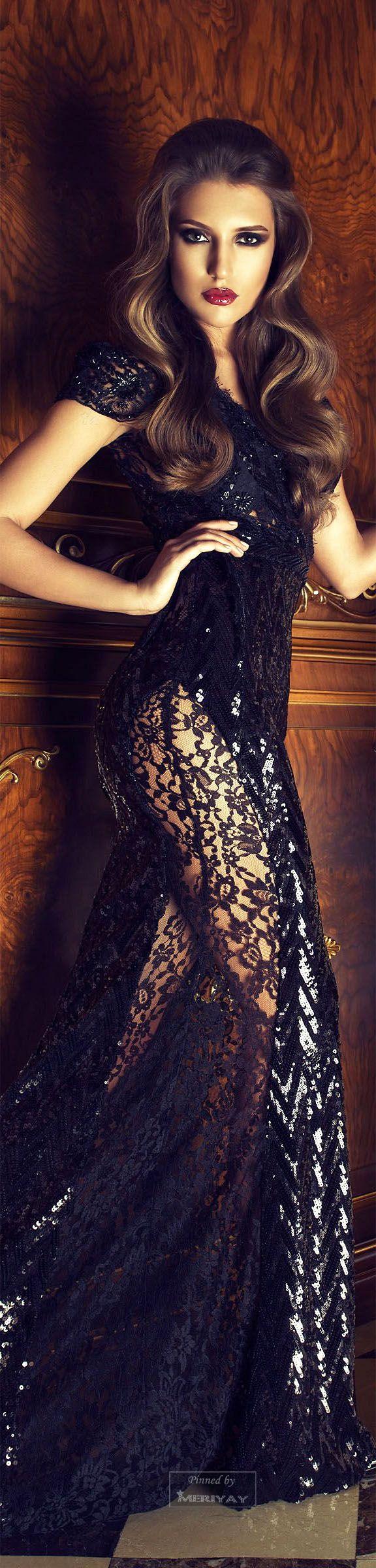 Lady Millionairess / karen cox. Cristallini gown. Cristallini Fall-winter, 2014-2015.