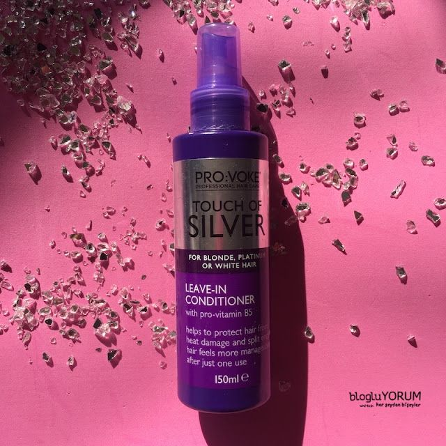 Provoke Touch Of Silver Leave In Conditioner Durulanmayan Sivi Sac