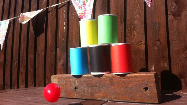 Make your own Olympic tin can toss