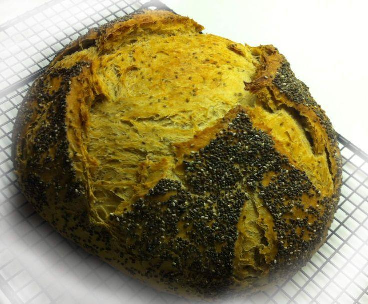 Chia-Malzbier-Brot