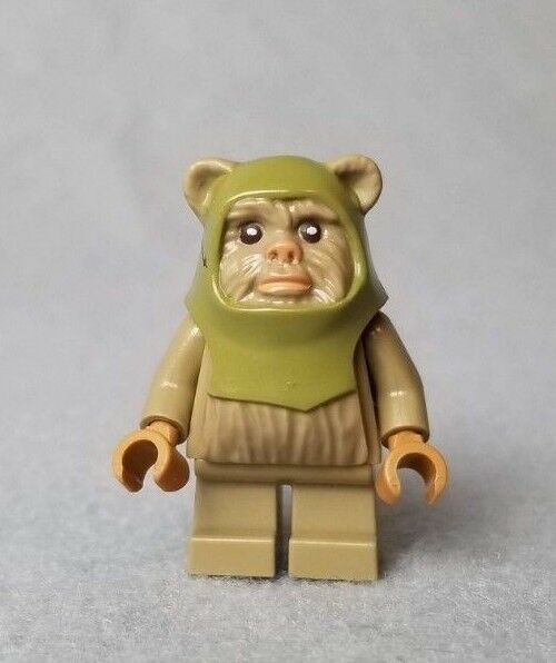 Lego Minifigure Star Wars Ewok Warrior