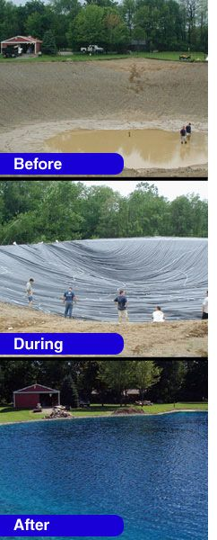 So cool! Lining Your Pond with a Pond Liner – Pond & Lake Q & A | The Pond Guy's Blog