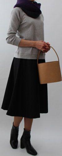 台形・フレアー2タイプスカート / フレアはキャメル厚め生地、台形は細畝コーデュロイで作りたい。